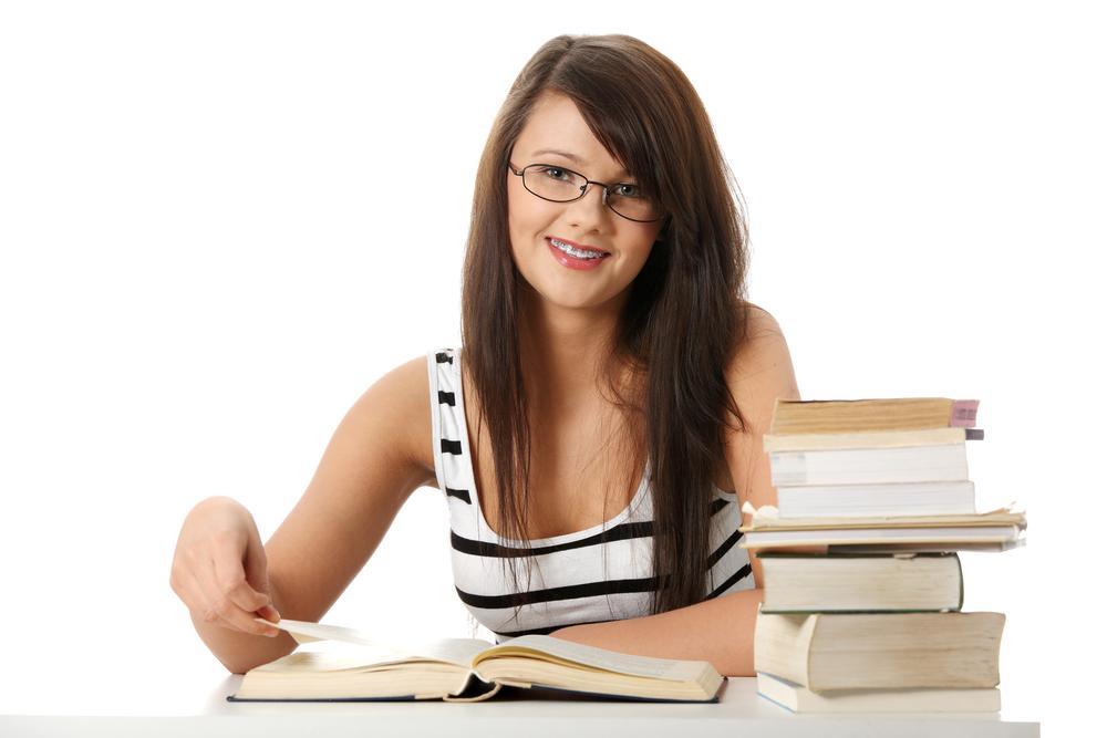 Образованная девушка